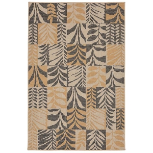 TransOcean Liora Manne Terrace 2773/82 Box Leaves Slate Rug