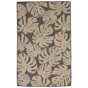 TransOcean Liora Manne Terrace 2774/77 Fronds Neutral Rug