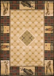 Classic Open Natural 130 43517 Genesis Rug by United Weavers