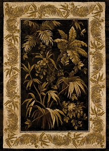 Aruba Black 050 30270 China Garden Rug by United Weavers