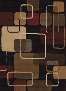 Jazz Black 050 32270 China Garden Rug by United Weavers