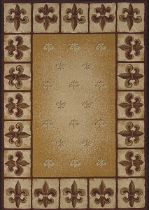Fleur De Lys 050 33697 China Garden Rug by United Weavers