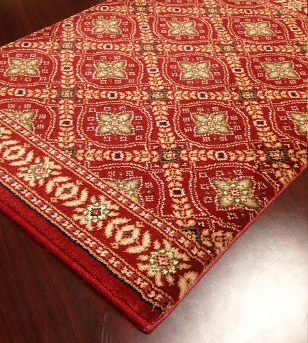 Century Verona 3730 Scarlet Carpet Stair Runner