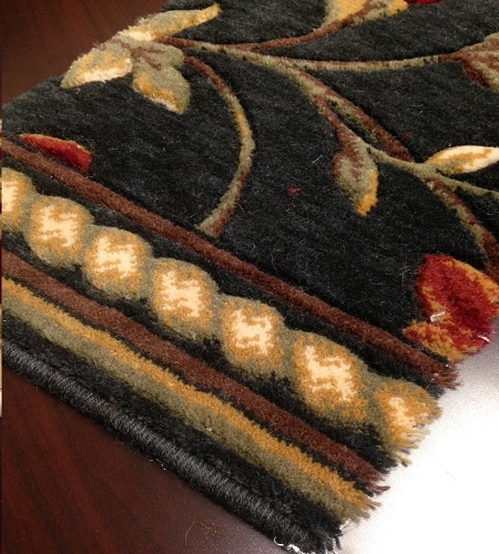 Royal Luxury Winslow 1327/0003a Ebony Carpet Stair Runner