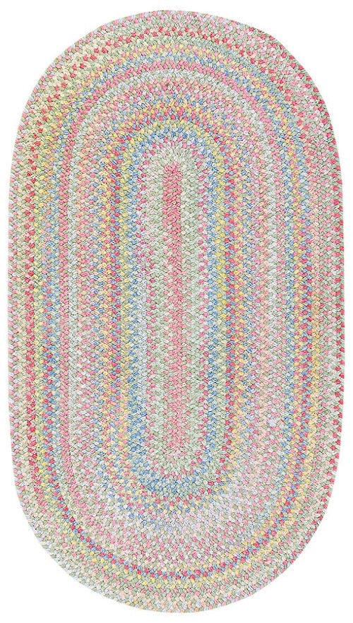 Light Green Babys Breath Rug by Capel