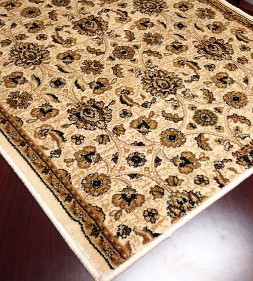 "Cersei 2083WH Hereford Wheat Carpet Hallway and Stair Runner - 26"" x 27 ft"
