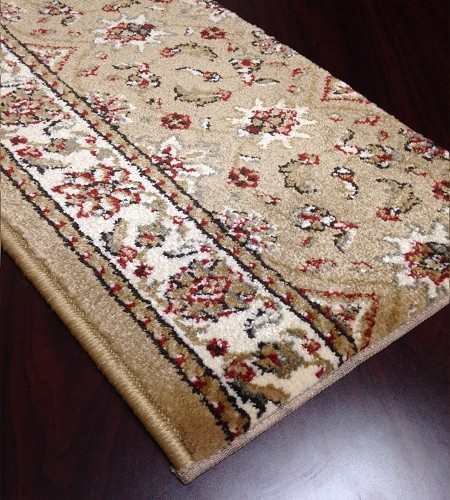 Como 1592 Beige Carpet Stair Runner