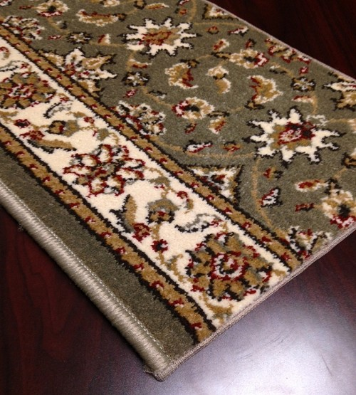 Como 1592 Sage Carpet Stair Runner