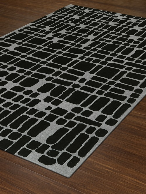 Dalyn Journey JR40 Black Rug