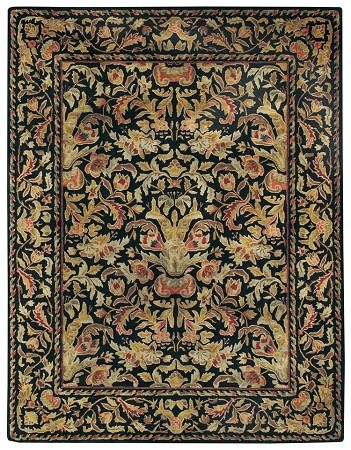 Black Garden Farms Rug by Capel