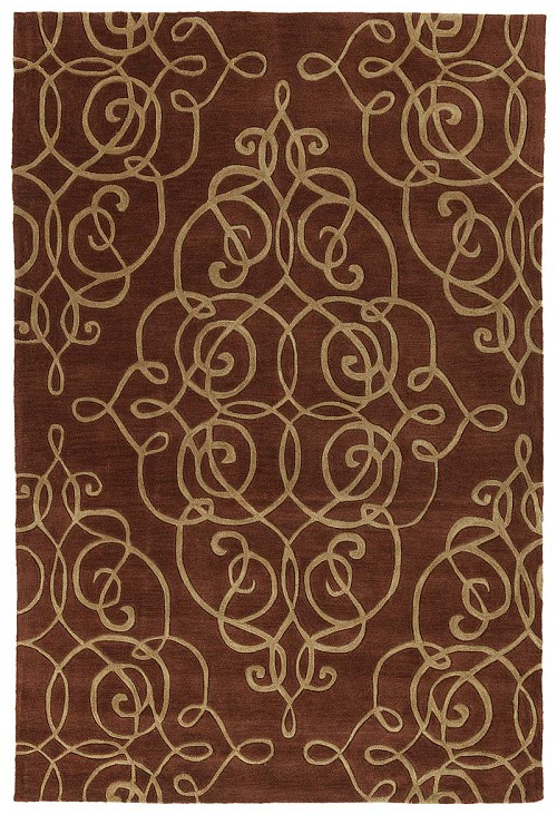 Kaleen Soho SOH01 25 Red Rug by Rachael Ray