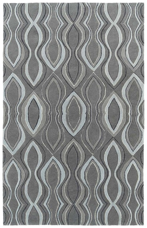 Kaleen Soho SOH04 75 Grey Rug by Rachael Ray