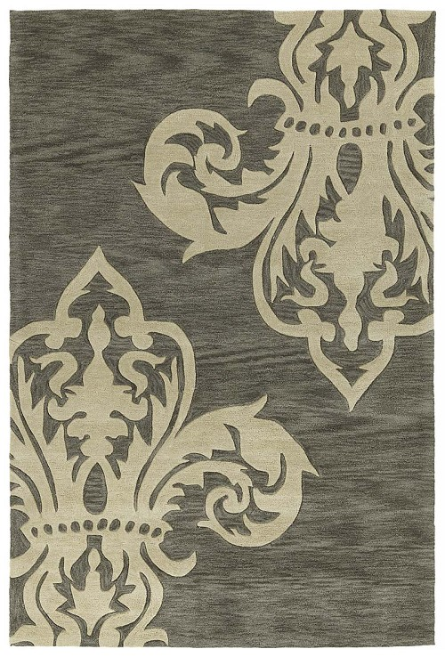 Kaleen Soho SOH05 38 Charcoal Rug by Rachael Ray
