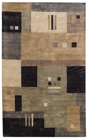 Onyx Multi Left Blank Rug by Capel