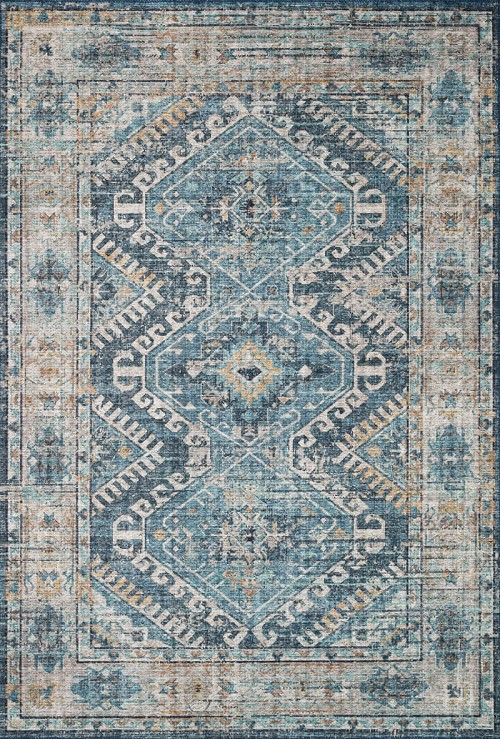 Loloi II Skye SKY-03 Denim Natural Rug
