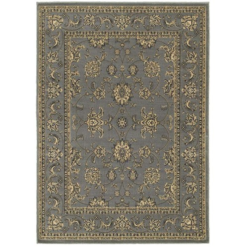 LR Resources Grace 81130 Gray Rug