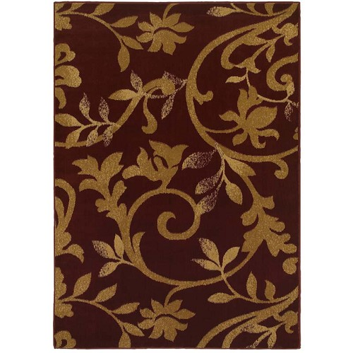LR Resources Grace 81133 Red Rug