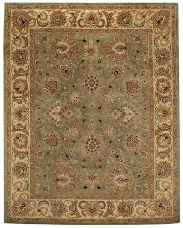 Green Pistachio Monticello Rug by Capel