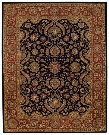 Onyx Rust Monticello Rug by Capel