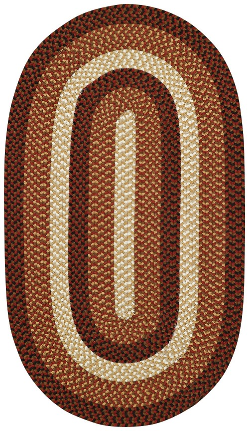 Capel Rolling Hills 0267 500 Country Red Rug
