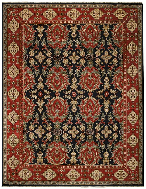 Capel Bellevelle Fereghan 1086 450 Midnight Cinnamon Rug