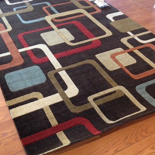 Payless Rugs Clearance Abacus Modern Area Rug - 5 ft x 8 ft