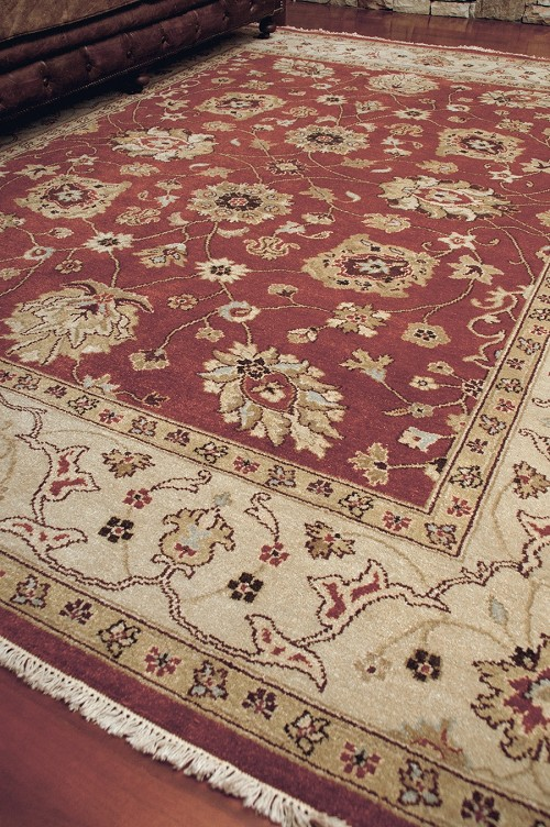 Amer Rugs Oasis Tozeur RA-3 Rust Gold Rug