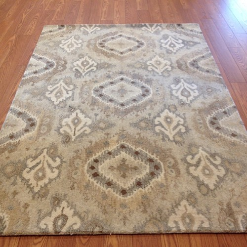 Payless Rugs Clearance Annabelle IKAT Area Rug - 5 ft x 8 ft