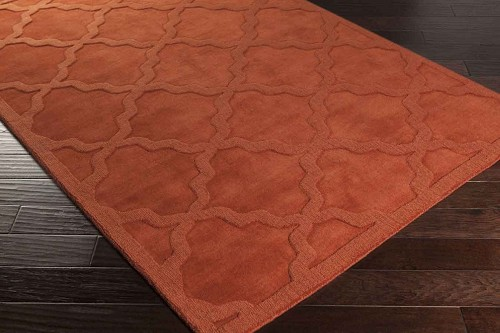 Artistic Weavers Central Park Abbey AWHP4022 Rust Area Rug