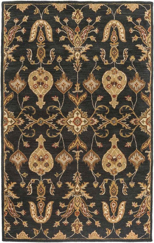 Artistic Weavers Middleton Grace AWHR2048 Black Area Rug
