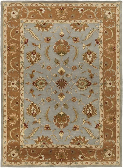 Artistic Weavers Oxford Isabelle AWDE2008 Light Blue/Brown Area Rug