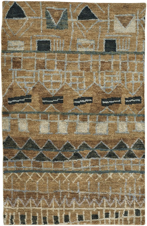 Capel Striation 1718-700 Tan Rug