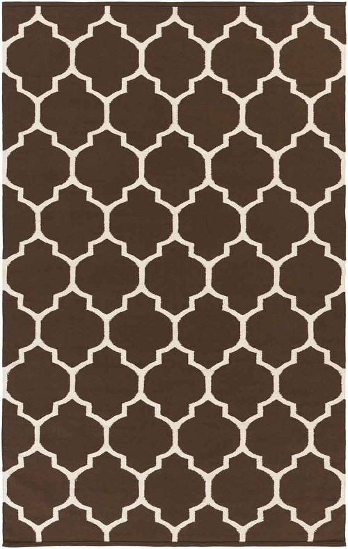 Artistic Weavers Vogue Claire AWLT3010 Brown/White Area Rug
