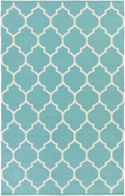 Artistic Weavers Vogue Claire AWLT3014 Teal/White Area Rug