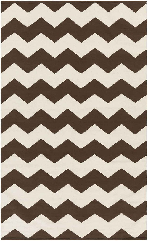 Artistic Weavers Vogue Collins AWLT3017 Brown/White Area Rug