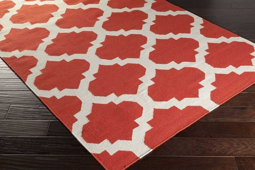 Artistic Weavers York Harlow AWHD1030 Coral/White Area Rug