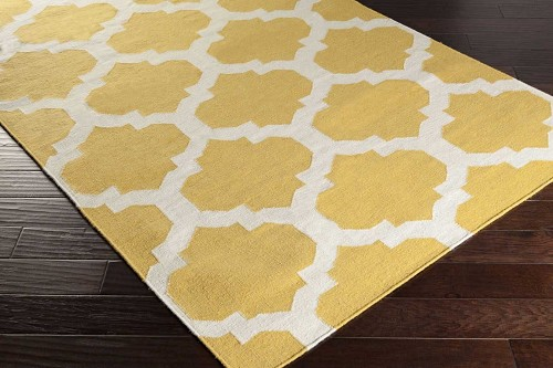 Artistic Weavers York Harlow AWHD1035 Yellow/White Area Rug