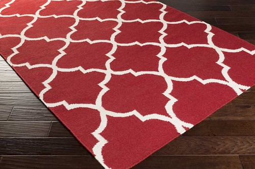 Artistic Weavers York Mallory AWHD1014 Red/White Area Rug