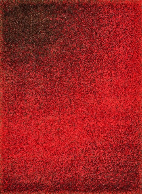 Barcelona Shag BS-01 Red Brown Rug by Loloi