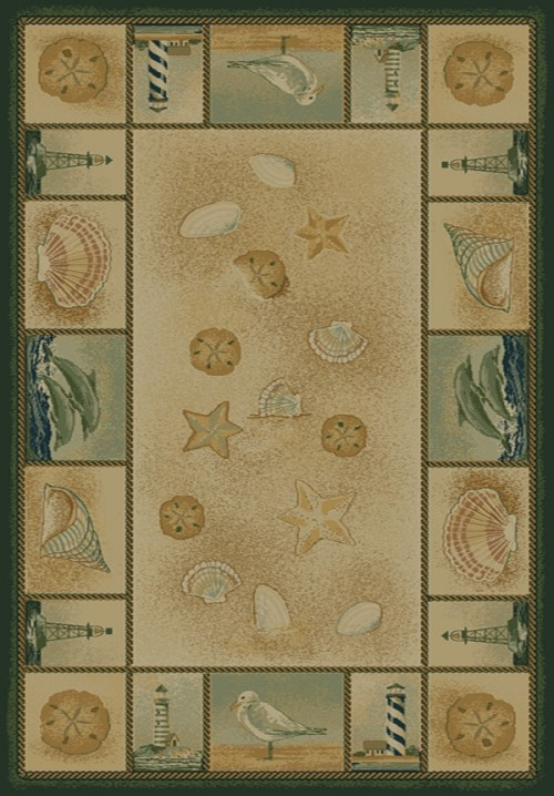 Beachcomber Natural 130 41517 Genesis Rug by United Weavers