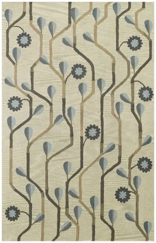 Capel Blue Bell Twining 3027 460 Blue Rug