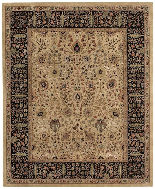 Dark Beige Forest Park Rug by Capel