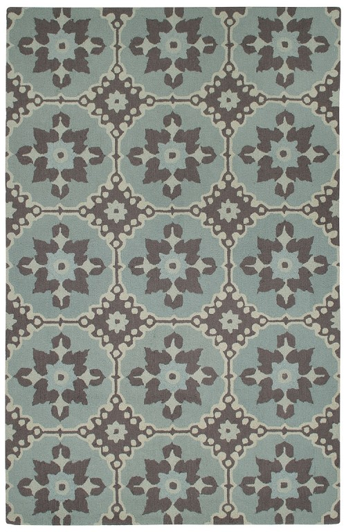 Capel Fortune 6057 240 Green Rug
