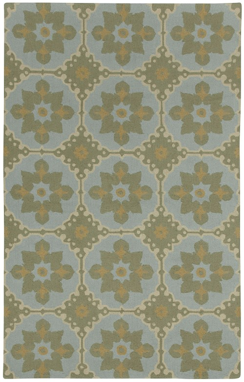 Capel Fortune 6057 400 Blue Rug