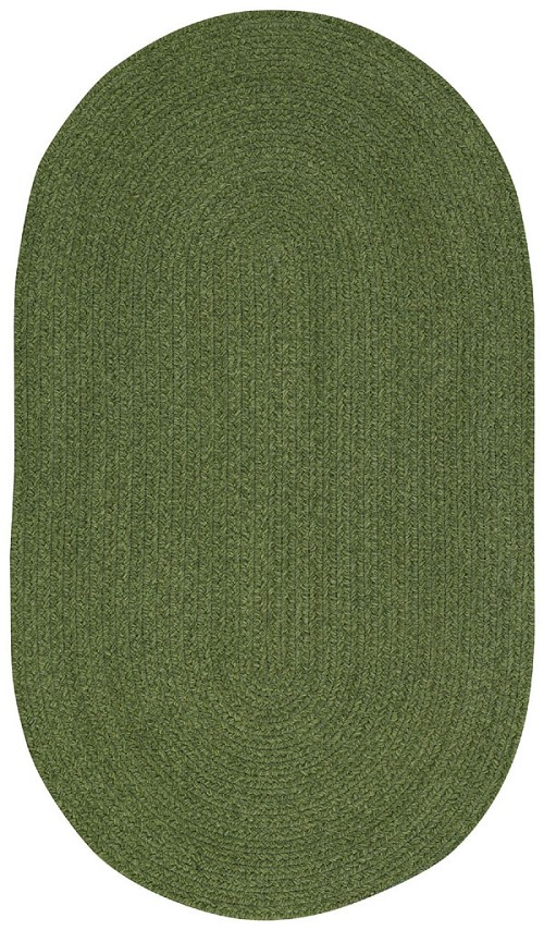 Deep Green Manteo Rug by Capel