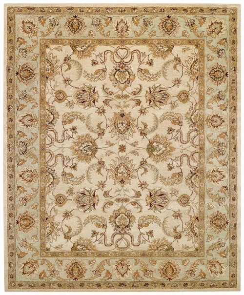 Beige Spa Monticello Rug by Capel