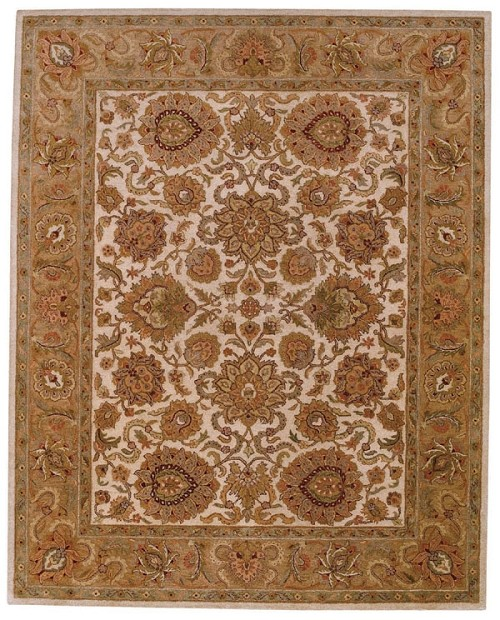 Cream Pink Monticello Rug by Capel
