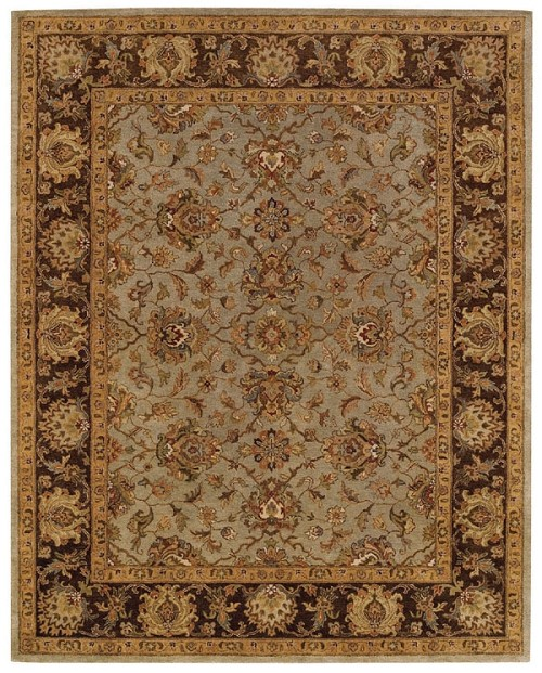 Honeydew Chocolate Monticello Rug by Capel