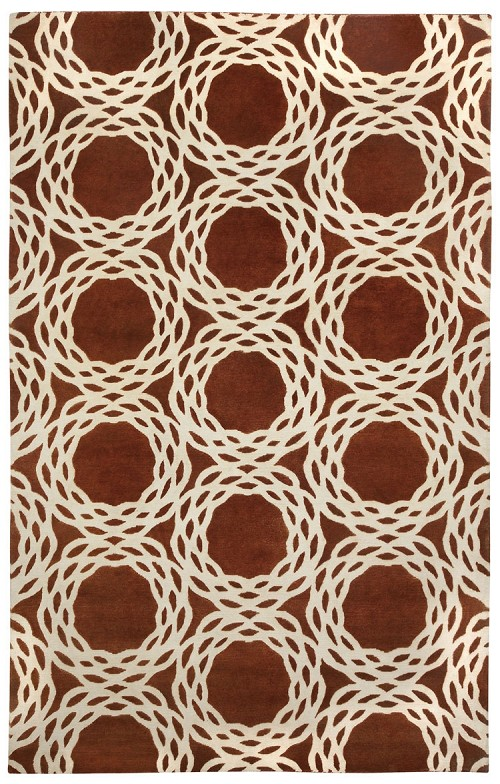 Capel Princeton 1930 800 Copper Cream Rug