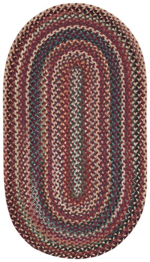 Red Sherwood Forest Rug by Capel